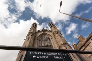 Edinburgh 2014, St. Paul's and St. George church