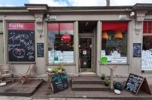 Edinburgh 2014, Earthy restaurant