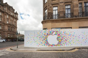 Edinburgh 2014, Apple Store - Princes Street