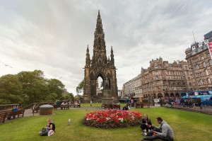 Edinburgh 2014, Scott monument