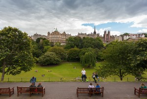 Edinburgh 2014, Princes park