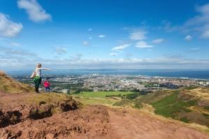 Edinburgh 2014, Arthur's seat