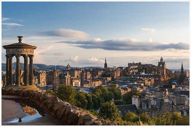 Edinburgh 2014, Calton hill