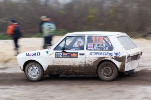 5. Rally show Santa Domenica 2014. / R. HRVOJ / J. SMREČKI @ Zastava Yugo