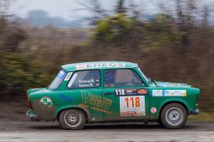 5. Rally show Santa Domenica 2014. / B. SZABÓ / N. TEMESI @ Trabant 601