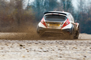 5. Rally show Santa Domenica 2014. / B. HARRACH / D. JAHN @ Ford Fiesta R5