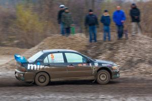 5. Rally show Santa Domenica 2014. / J. ŠEBALJ / T. KLINC @ Mitsubishi Lancer EVO IX