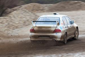 5. Rally show Santa Domenica 2014. / K. HIDEG / I. KEREK @ Mitsubishi Lancer EVO VII