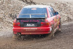 5. Rally show Santa Domenica 2014. / D. VOJVODIĆ / T. VOJVODIĆ-Pinky Mitsubishi Lancer EVO III@ Mitsubishi Lancer EVO III