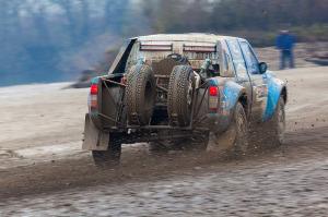 5. Rally show Santa Domenica 2014. / P. LÓNYAI / Z. GARAMVÖLGYI @ Nissan Navara V8