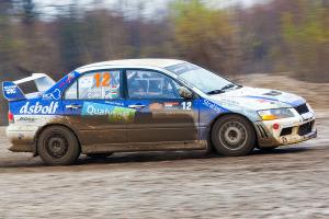 5. Rally show Santa Domenica 2014. / S. BORBÁS / R. CSÁKI @ Mitsubishi Lancer EVO VII
