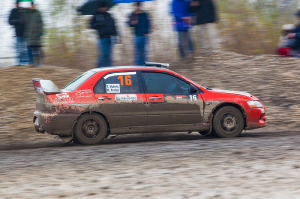5. Rally show Santa Domenica 2014. / T. MUHVIĆ / M. FERLAN @ Mitsubishi Lancer EVO IX