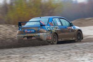 5. Rally show Santa Domenica 2014. / A. OSTANEK / C. MIKLAVČIČ @ Mitsubishi Lancer EVO IX