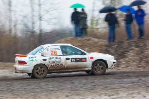 5. Rally show Santa Domenica 2014. / I. JANDREČIĆ / V. JURIN @ Subaru Impreza GT