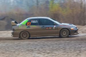 5. Rally show Santa Domenica 2014. / I. SIPOS / K. CSER @ Mitsubishi Lancer EVO VIII