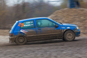 5. Rally show Santa Domenica 2014. / M. KORITNIK / A. GRM @ Renault Clio Williams