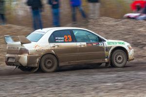 5. Rally show Santa Domenica 2014. / S. VÁRKONYI / D. BERENDI @ Mitsubishi Lancer EVO IX