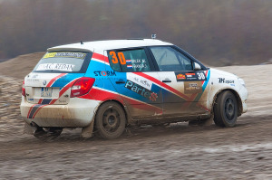 5. Rally show Santa Domenica 2014. / J. FRANJA / M. BRLEK @ Škoda Fabia R2
