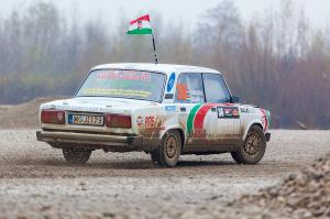 5. Rally show Santa Domenica 2014. / G. SZAUER / B. SZAUER @ Lada 2105