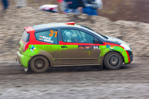 5. Rally show Santa Domenica 2014. / M. MÜLLER / G. JUNGBLUTH @ Citroën C2 R2