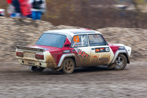 5. Rally show Santa Domenica 2014. / Á. BALATONYI / J. KIRSCHING @ Lada VFTS