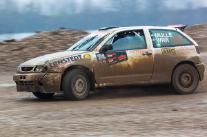 5. Rally show Santa Domenica 2014. / D-M. ERNSTEDT / M. MILOJKOVIĆ-Momo @ Seat Ibiza Kit Car