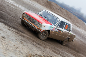 5. Rally show Santa Domenica 2014. / T. RÁCZ / R. JANKOVICS @ Lada 2101