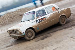 5. Rally show Santa Domenica 2014. / A. DERGEZ / J. LOCHER @ Lada 2101