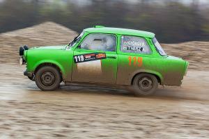 5. Rally show Santa Domenica 2014. / R. GYÖRGY / A. THEISZ @ Trabant 601