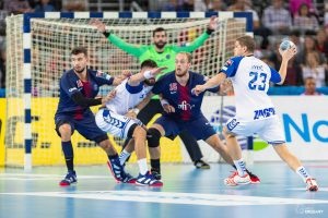 EHF Men's Championship League, Group Phase. PPD Zagreb VS PSG. / Ivica Drusany