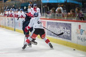 ZAGREB, CROATIA - OCTOBER 29, 2018: EBEL League 2018/2019, Medvescak Zagreb VS HC TWK Innsbruck. / Ivica Drusany