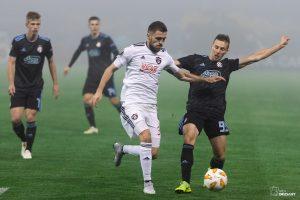 UEFA Europa League 2018/2019, Group D, Match Day 4. GNK Dinamo Zagreb VS Spartak Trnava. / Ivica Drusany