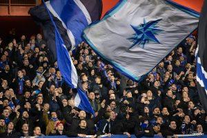 UEFA Europa League 2018/2019, Round of 32, 2nd leg. GNK Dinamo Zagreb VS Viktoria Plzen. / Ivica Drusany