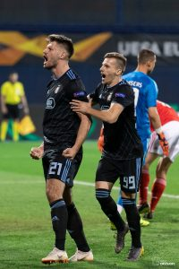 UEFA Europa League 2018/2019, Round of 16, 1st leg. GNK Dinamo Zagreb VS S.L. Benfica. / Ivica Drusany