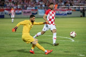UEFA Friendly match Croatia VS Tunisia. / Ivica Drusany