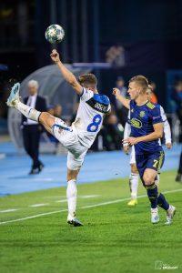 UEFA Champions League, Group C - Matchday 1. GNK Dinamo VS Atalanta BC. / Ivica Drusany