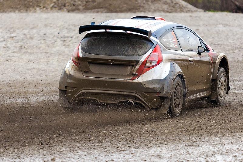 5. Rally show Santa Domenica 2014. / B. HARRACH / D. JAHN @ Ford Fiesta R5
