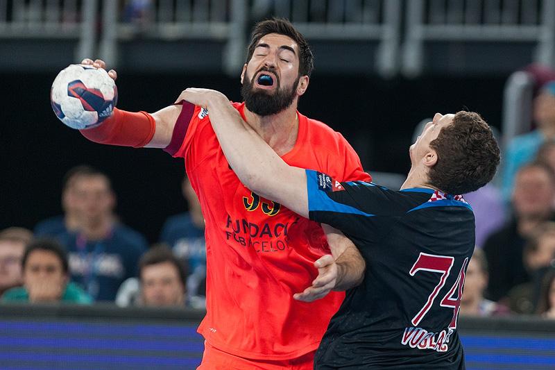 EHF Liga Prvaka, Četvrtina finala / Zagreb PPD - Barcelona, Zagreb (9.4.2015.)