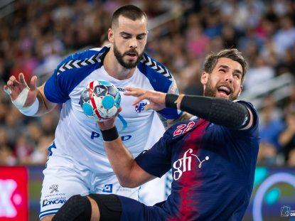 EHF Men's Championship League, Group Phase. PPD Zagreb VS PSG. / Ivica Drusany