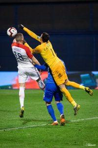 UEFA EURO 2020 Qualifying round, Group E. Croatia VS Azerbaijan. / Ivica Drusany